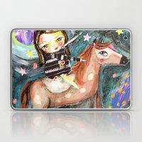 Riding A Horse Laptop & iPad Skin