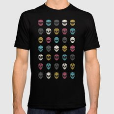 Go Go SMALL Mens Fitted Tee Black