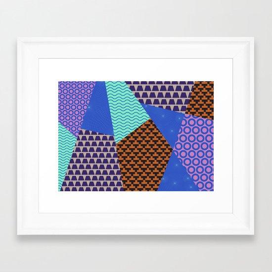 pattern4 Framed Art Print
