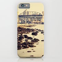 iPhone & iPod Case featuring rocks to burrard by LeoTheGreat