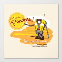 Visit Pandora! Canvas Print