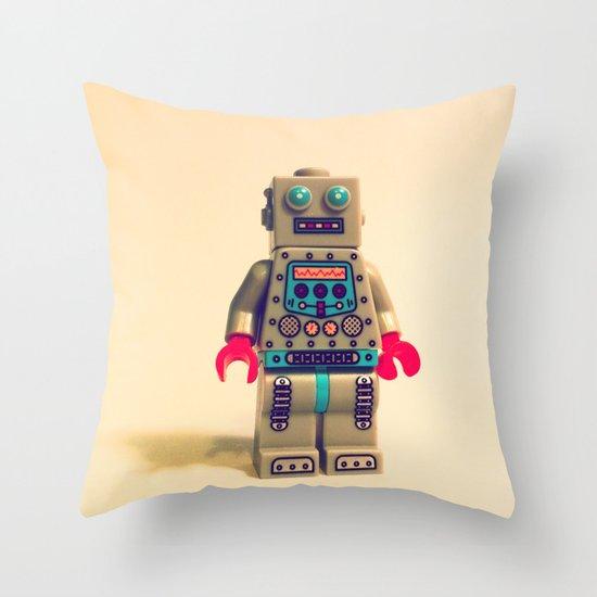 Robot 2000 Throw Pillow