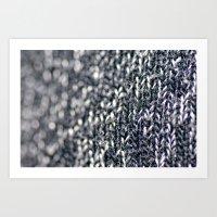 Megan Wearing Soo's Sweater Art Print