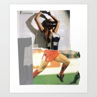 Football Fashion #15 Art Print