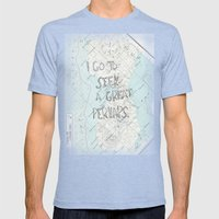Looking for Alaska Mens Fitted Tee Tri-Blue SMALL