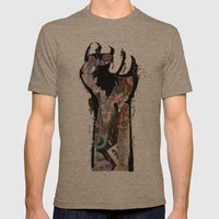 Freepower(improved!!!!!)… Mens Fitted Tee Tri-Coffee SMALL