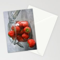 Berry Strawberries Stationery Cards