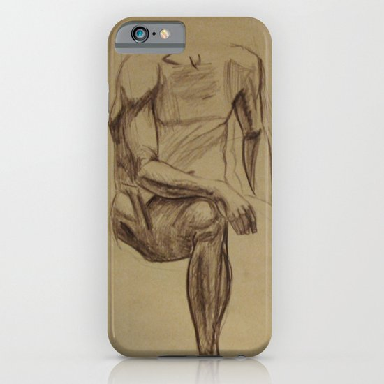 Sitting Sketches iPhone & iPod Case