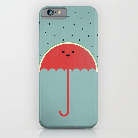 Watermelon Umbrella iPhone & iPod Case
