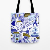 Topsy Town Tote Bag