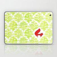 Damask forest pattern Laptop & iPad Skin