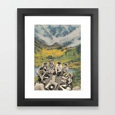 Mountain Sound Framed Art Print