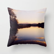 Irish Lake Throw Pillow