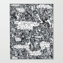 The Wonderful Plague Canvas Print