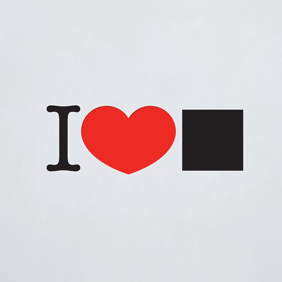 I LOVE PIXELS / PICTOGRAM VERSION Art Print