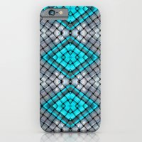 Blue eyes watching over you iPhone 6 Slim Case