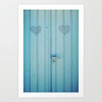 The Love Door Art Print