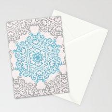 Glitters and Mandala Pattern Stationery Cards