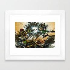 The Battlefield Framed Art Print