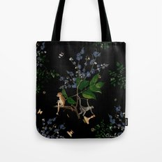 Monkey World: Apy and Vinnie Tote Bag