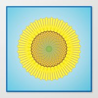 Spring Yellow Canvas Print