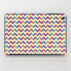 Coloured Chevron iPad Case