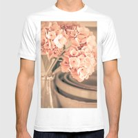 One More Time Mens Fitted Tee White SMALL