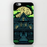 Haunted House iPhone & iPod Skin