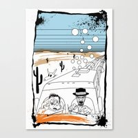 Fear and Loathing in Albuquerque II Canvas Print