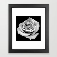 Beauty & Death - Edited Framed Art Print