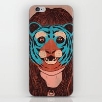 Tiger Face iPhone & iPod Skin