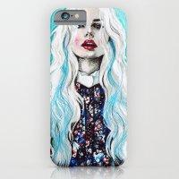 Fleur Bleu iPhone 6 Slim Case