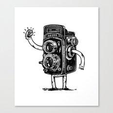 Self-Selfie Canvas Print