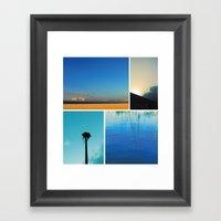 Florida Noir 003 Framed Art Print