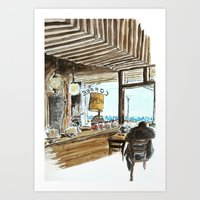A View To The Sea Art Print