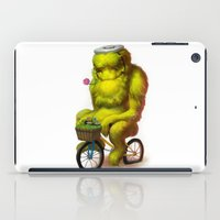 Bike Monster 1 iPad Case