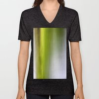 Abstract Reedbed Unisex V-Neck