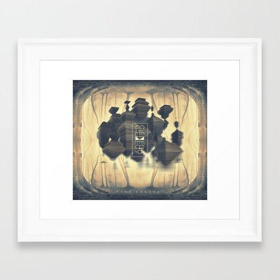 Viva Bocashi Framed Art Print