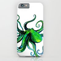 iPhone & iPod Case featuring Octopus by Ashley Jones
