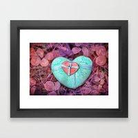 Be My Valentine Framed Art Print