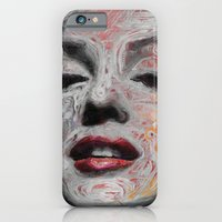 iPhone & iPod Case featuring Marilyn Monroe by Mantra Ardhana
