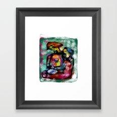 Friend Or Foe Framed Art Print
