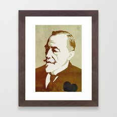 Joseph Conrad Framed Art Print