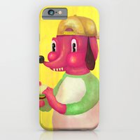 iPhone & iPod Case featuring my kind of burger by ALVAREZ