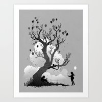 Friends Art Print