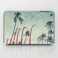 Coconut - Palms and Flags iPad Case