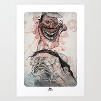 The bad Art Print