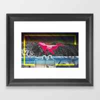 Golden View  Framed Art Print