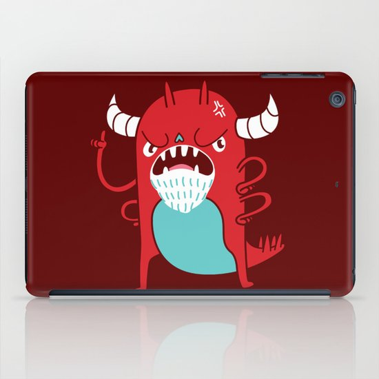 Monster Nagging iPad Case