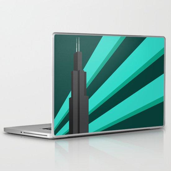 Sears Tower Laptop & iPad Skin